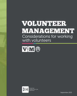 Volunteer Management: Considerations for Working with Volunteers