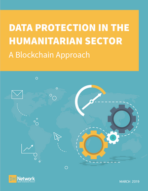 Data Protection in the Humanitarian Sector - A Blockchain Approach