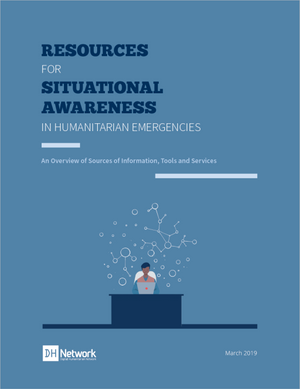 Resources for Situational Awareness in Humanitarian Emergencies